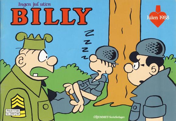 Cover for Billy julehefte (Hjemmet / Egmont, 1970 series) #1988