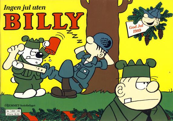Cover for Billy julehefte (Hjemmet / Egmont, 1970 series) #1989