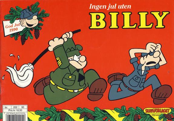 Cover for Billy julehefte (Hjemmet / Egmont, 1970 series) #1990