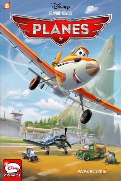 "Cover for Disney Graphic Novels (NBM, 2015 series) #1 - Planes ""Livin' the Dream"""