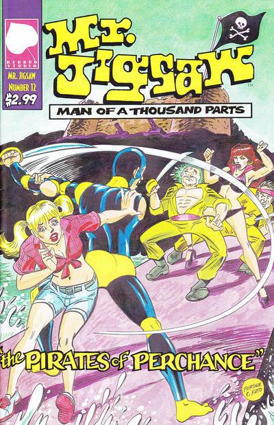 Cover for Mr. Jigsaw (Redbud Studio, 2009 series) #12
