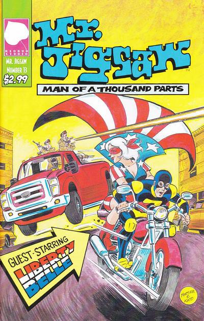 Cover for Mr. Jigsaw (Redbud Studio, 2009 series) #13