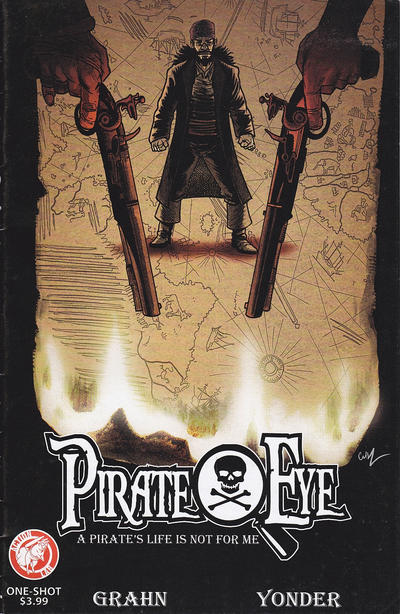 Cover for Pirate Eye (Action Lab Comics, 2012 series) #2