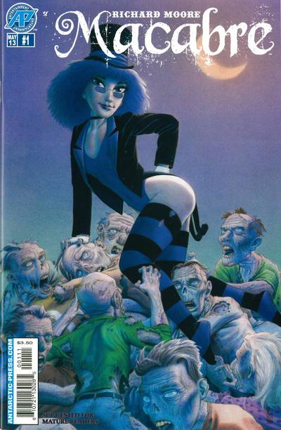 Cover for Macabre (Antarctic Press, 2013 series) #1