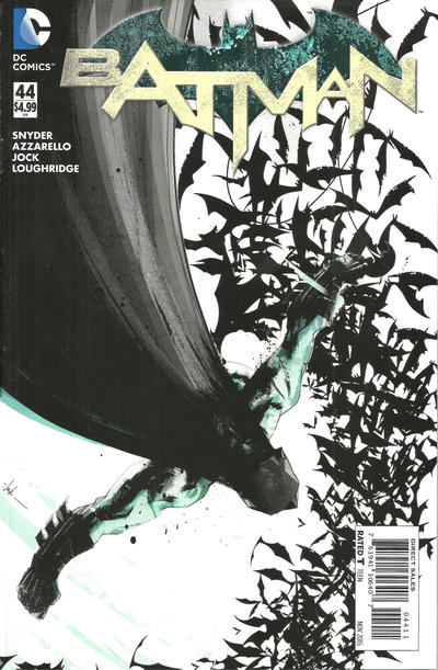Cover for Batman (DC, 2011 series) #44 [Direct Sales]
