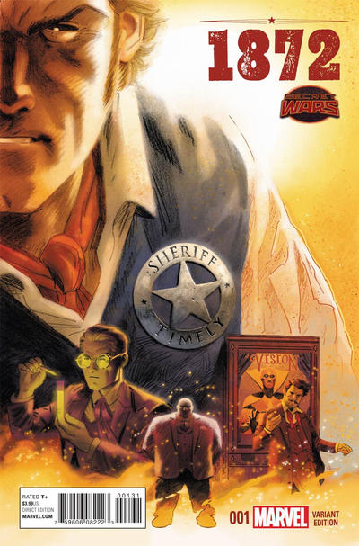 Cover for 1872 (Marvel, 2015 series) #1