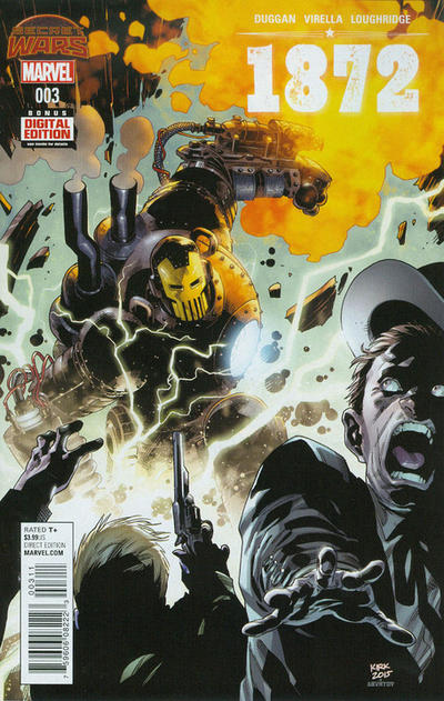 Cover for 1872 (Marvel, 2015 series) #3