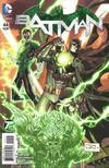Cover for Batman (DC, 2011 series) #44 [Green Lantern 75th Anniversary Variant]