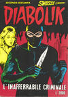Cover for Diabolik Swiisss (Astorina, 1994 series) #2