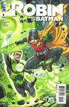 Cover for Robin: Son of Batman (DC, 2015 series) #4 [Green Lantern 75th Anniversary Cover]