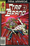 Cover for Star Brand (Marvel, 1986 series) #6 [Newsstand Edition]