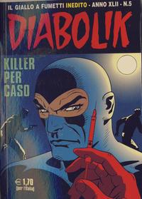 Cover Thumbnail for Diabolik (Astorina, 1962 series) #v42#5