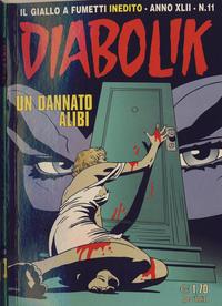 Cover Thumbnail for Diabolik (Astorina, 1962 series) #v42#11