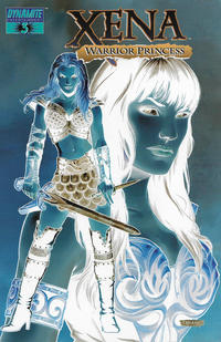 Cover Thumbnail for Xena (Dynamite Entertainment, 2006 series) #3 [Negative Incentive Cover]
