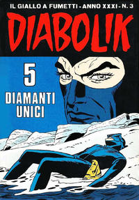 Cover Thumbnail for Diabolik (Astorina, 1962 series) #v31#3
