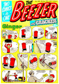 Cover Thumbnail for The Beezer and Cracker (D.C. Thomson, 1976 series) #1092