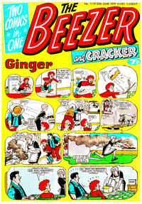 Cover Thumbnail for The Beezer and Cracker (D.C. Thomson, 1976 series) #1119
