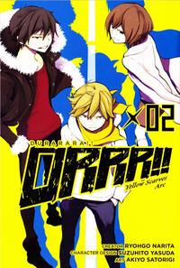 Cover Thumbnail for Durarara!! Kokinzoku-Hen (Yen Press, 2014 series) #2