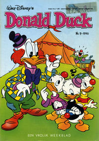 Cover Thumbnail for Donald Duck (Oberon, 1972 series) #9/1990