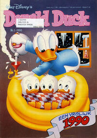 Cover Thumbnail for Donald Duck (Oberon, 1972 series) #1/1990