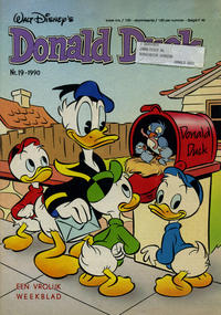 Cover Thumbnail for Donald Duck (Oberon, 1972 series) #19/1990