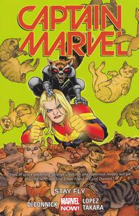 Cover Thumbnail for Captain Marvel (Marvel, 2014 series) #2 - Stay Fly