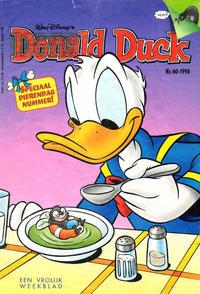 Cover Thumbnail for Donald Duck (VNU Tijdschriften, 1998 series) #40/1998