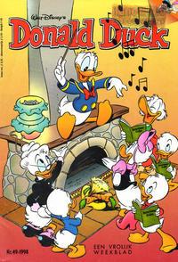 Cover Thumbnail for Donald Duck (VNU Tijdschriften, 1998 series) #49/1998