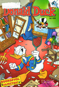 Cover Thumbnail for Donald Duck (VNU Tijdschriften, 1998 series) #7/1999