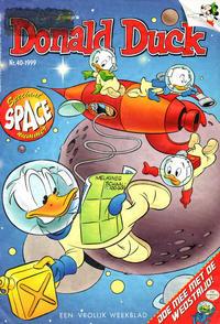Cover Thumbnail for Donald Duck (VNU Tijdschriften, 1998 series) #40/1999