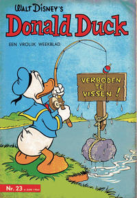 Cover Thumbnail for Donald Duck (Geïllustreerde Pers, 1952 series) #23/1964