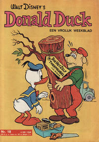 Cover Thumbnail for Donald Duck (Geïllustreerde Pers, 1952 series) #18/1968