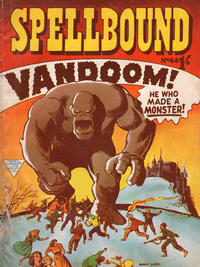 Cover Thumbnail for Spellbound (L. Miller & Son, 1960 ? series) #44