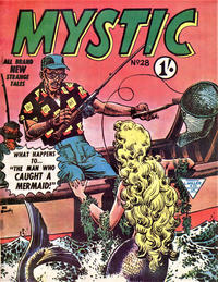 Cover Thumbnail for Mystic (L. Miller & Son, 1960 series) #28