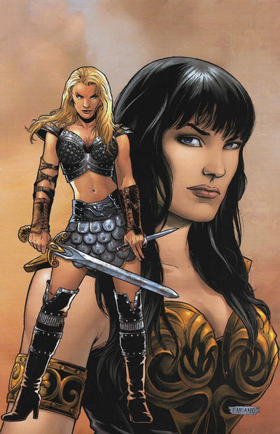 Cover for Xena (Dynamite Entertainment, 2006 series) #3 [Adriano Batista Cover]