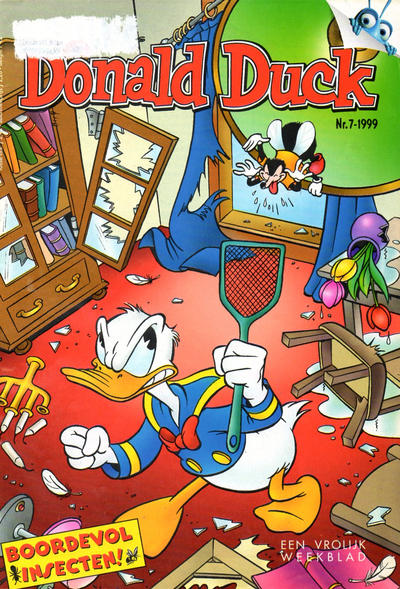 Cover for Donald Duck (VNU Tijdschriften, 1998 series) #7/1999