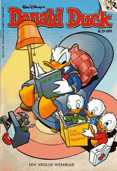 Cover for Donald Duck (VNU Tijdschriften, 1998 series) #29/1999