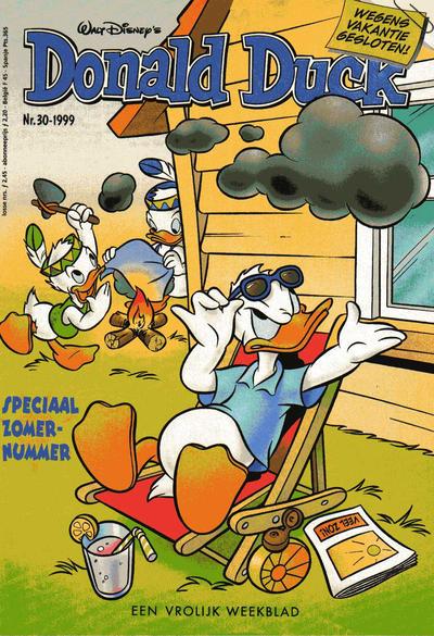 Cover for Donald Duck (VNU Tijdschriften, 1998 series) #30/1999