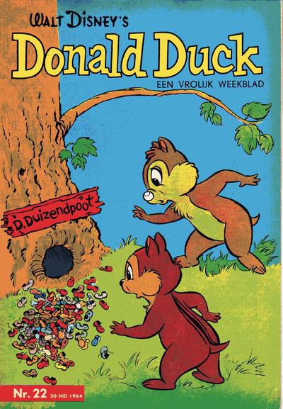 Cover for Donald Duck (Geïllustreerde Pers, 1952 series) #22/1964