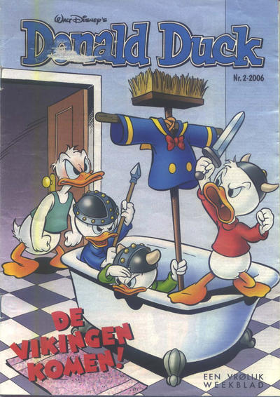 Cover for Donald Duck (Sanoma Uitgevers, 2002 series) #2/2006