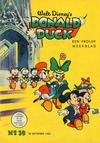 Cover for Donald Duck (Geïllustreerde Pers, 1952 series) #39/1953