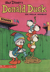 Cover Thumbnail for Donald Duck (Geïllustreerde Pers, 1952 series) #17/1968