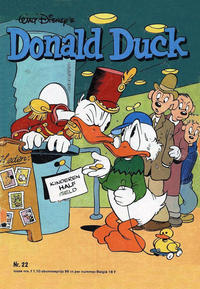 Cover Thumbnail for Donald Duck (Oberon, 1972 series) #22/1978