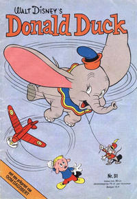 Cover Thumbnail for Donald Duck (Oberon, 1972 series) #31/1975