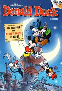 Cover Thumbnail for Donald Duck (VNU Tijdschriften, 1998 series) #12/2000
