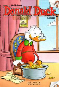 Cover Thumbnail for Donald Duck (VNU Tijdschriften, 1998 series) #34/2000