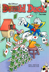 Cover Thumbnail for Donald Duck (VNU Tijdschriften, 1998 series) #35/2000