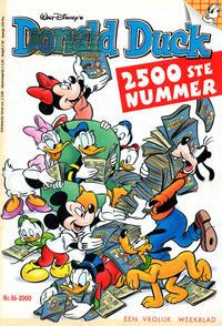 Cover Thumbnail for Donald Duck (VNU Tijdschriften, 1998 series) #36/2000