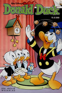 Cover Thumbnail for Donald Duck (VNU Tijdschriften, 1998 series) #52/2000