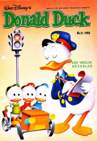 Cover Thumbnail for Donald Duck (Oberon, 1972 series) #11/1988